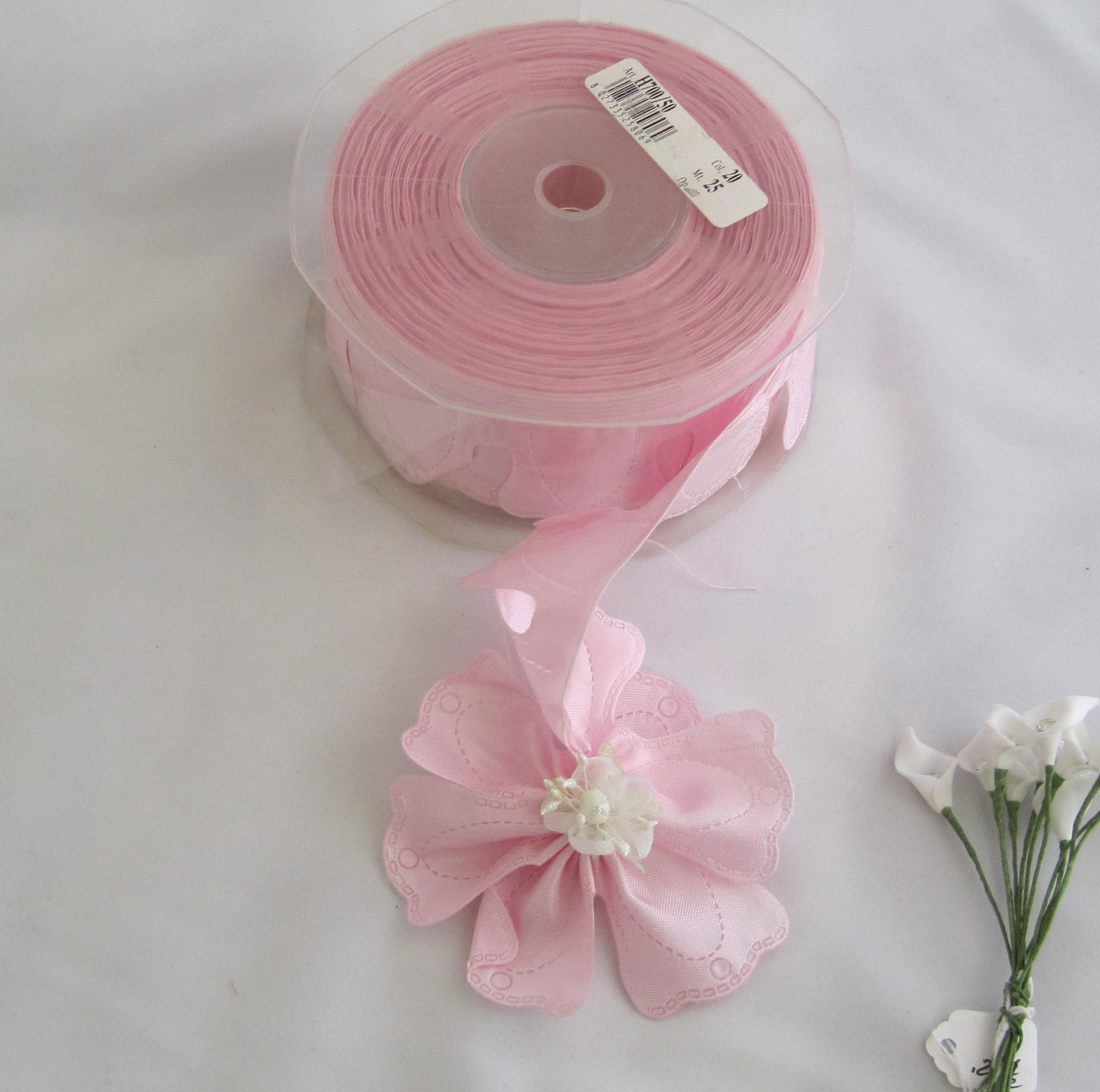 Confetti Flower Ribbon Quadrifoglio Confetti holder pink ...