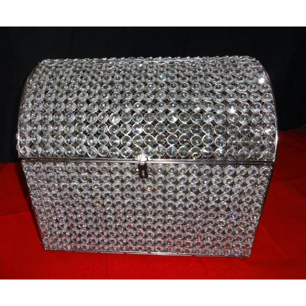 Wedding Gift Deposit Box : Crystal Money & Gift Card BoxRental: lafavoritafavors.com