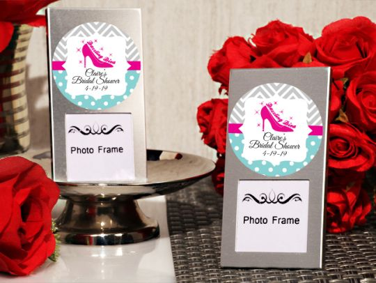 The Dazzling Diva Personalized Mini Photo Frame Favors ...