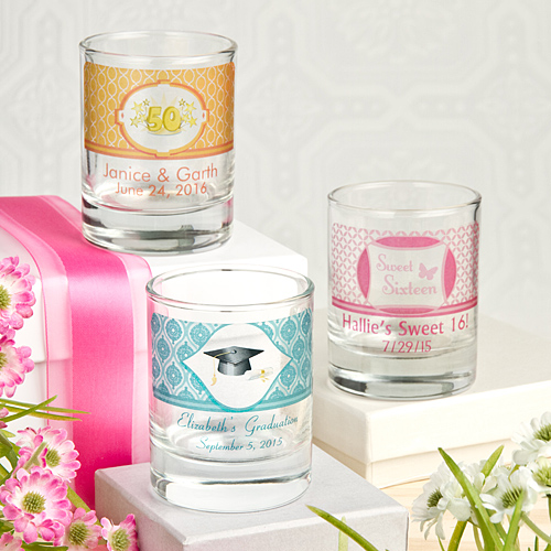 Candle favors Personalized