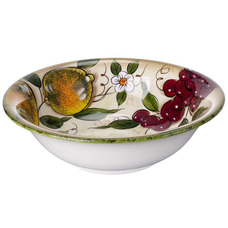 Cucina italiana ceramic deep pasta bowl 0051 577 for Cucina italiana design
