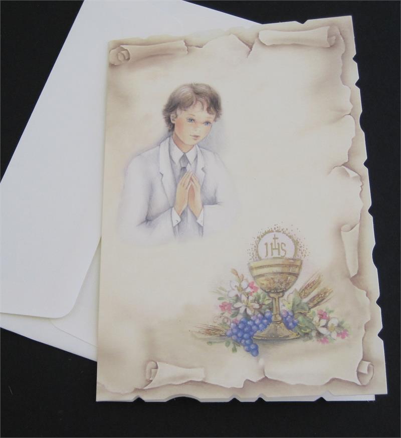 Best Man Wedding Gifts >> Italian Communion invitations