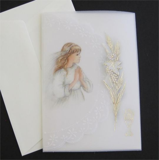 Italian First Holy Communion Invitation