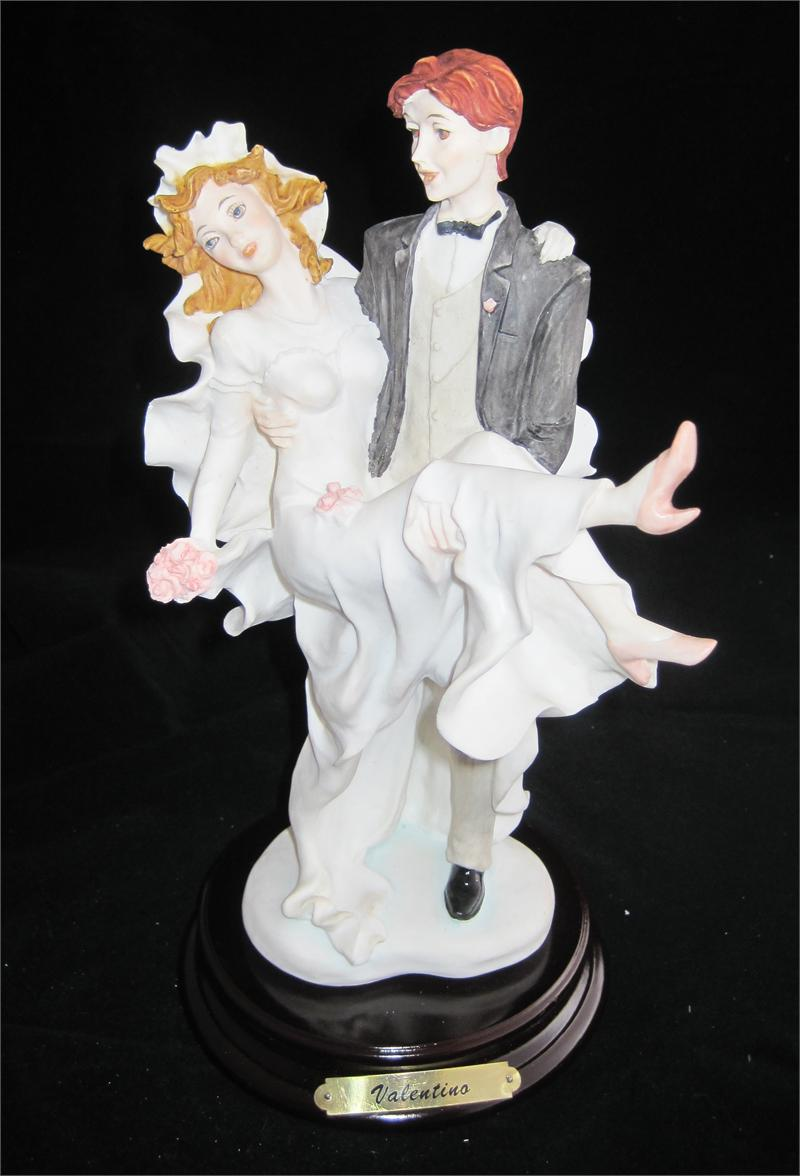 Valentino S Quot Wedded Bliss Quot Capodimonte Statue Made In