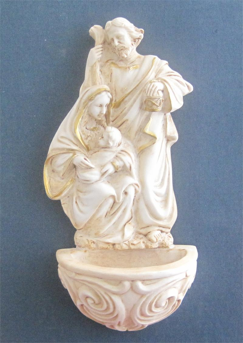 Holy Family Holy Water Font Lafavoritafavors Com