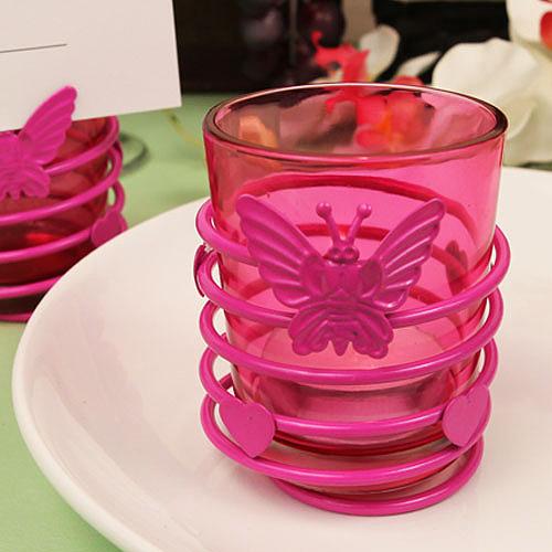 Erfly Heart Swirl Hot Pink Steel